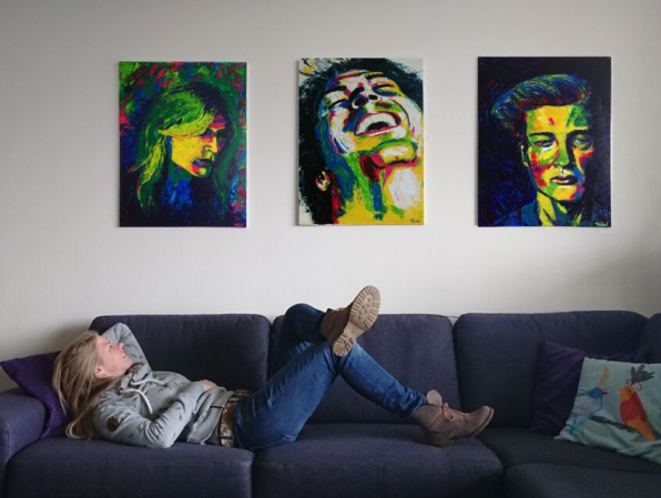 Home is where the art is :-)