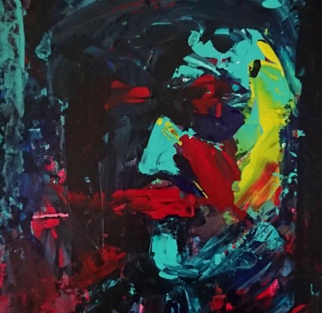 Stress and Trauma caught on canvas