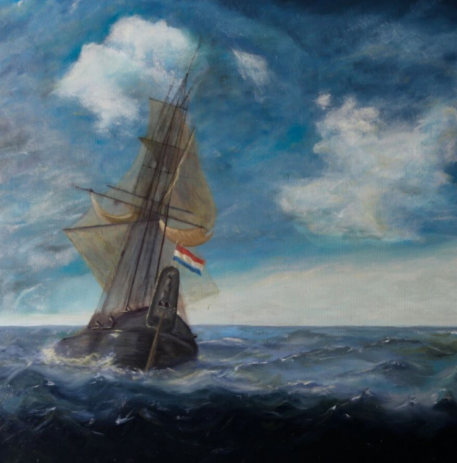 Ship at Sea / Commission Work (Opdracht)